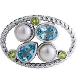 LeStage Ocean Grace Sterling Silver Clasp