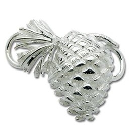 LeStage Sterling Pine Cone Clasp