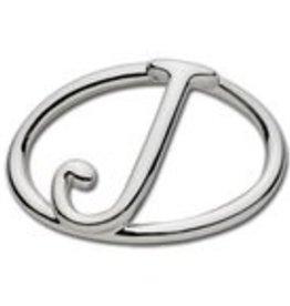 "LeStage Sterling Silver Letter ""J"" Clasp"
