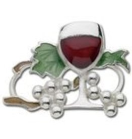 LeStage Sterling Wine & Grape Vine Clasp