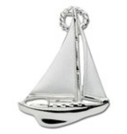 LeStage Sterling Silver Sailboat Clasp