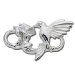 LeStage Sterling Silver Hummingbird Clasp