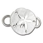 LeStage Sterling Silver Sand Dollar Clasp
