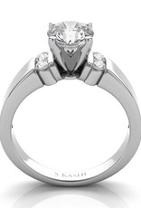 S. Kashi S. Kashi 14K White Gold Semi - Mount