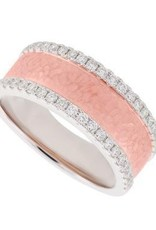 PeJay Creations 14K RG Diamond Eternity Ring .42 ctw