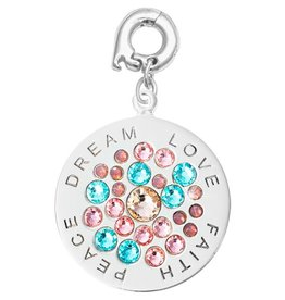 Nikki Lissoni 'Dream, Love, Peace, Faith' Charm