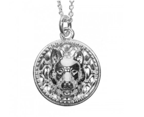 Coles of London Silver German Shepherd Dog Tag