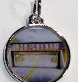 """T-Bird Country"" Bridge Charm - Small"