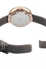 Obaku Watches Rose Gold & Granite Gray Watch