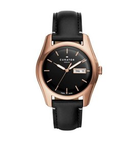 The Fossil Group Men's Black Curator Watch