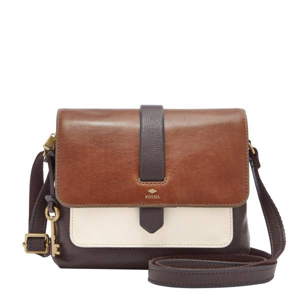 The Fossil Group Kinley Small Crossbody in Neutrals