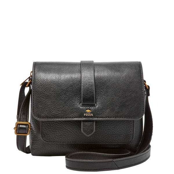 The Fossil Group Kinley Small Black Crossbody