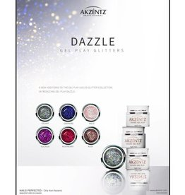Akzentz Gel Play Dazzle Limited Edition F/W 2018