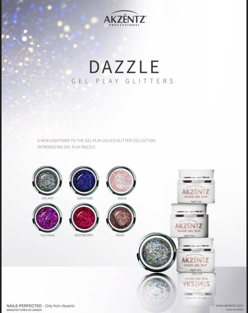 Akzentz Gel Play Dazzle Limited Edition F/W 2018
