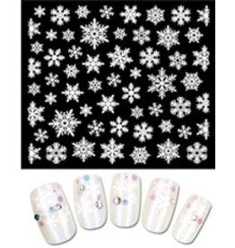 Gellipop Snow Flakes (White)