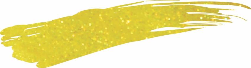 Akzentz Glitter Shifter Yellow