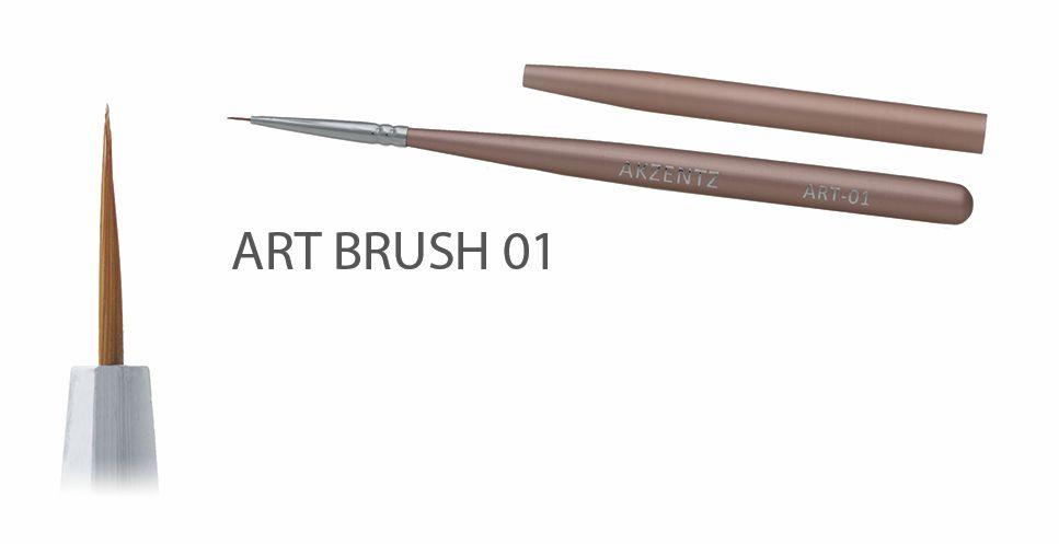 Akzentz Gel Art Liner Brush #01