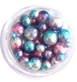 Nail Labo PEARL BALL ASSORTED BLUE MERMAID