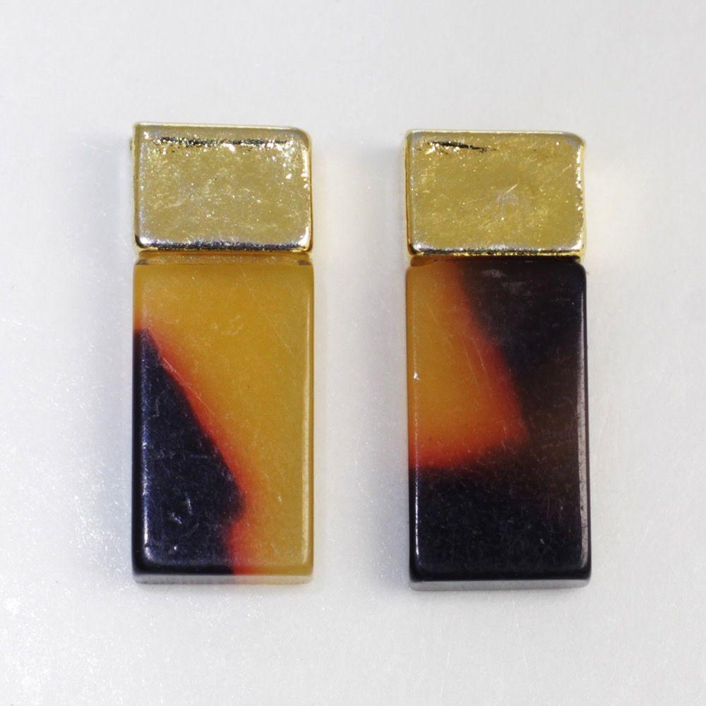 Shareydva DonaclaSssy Rectangle (Raw Amber)