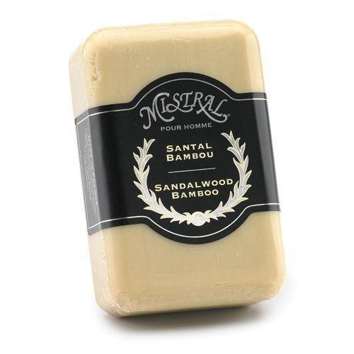 MISTRAL WHOLESALE Mistral Sandalwood Bamboo Men's Soap