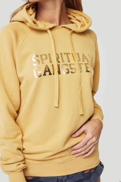 Spiritual Gangster Spiritual Gangster Raglan Hoodie Golden Sun