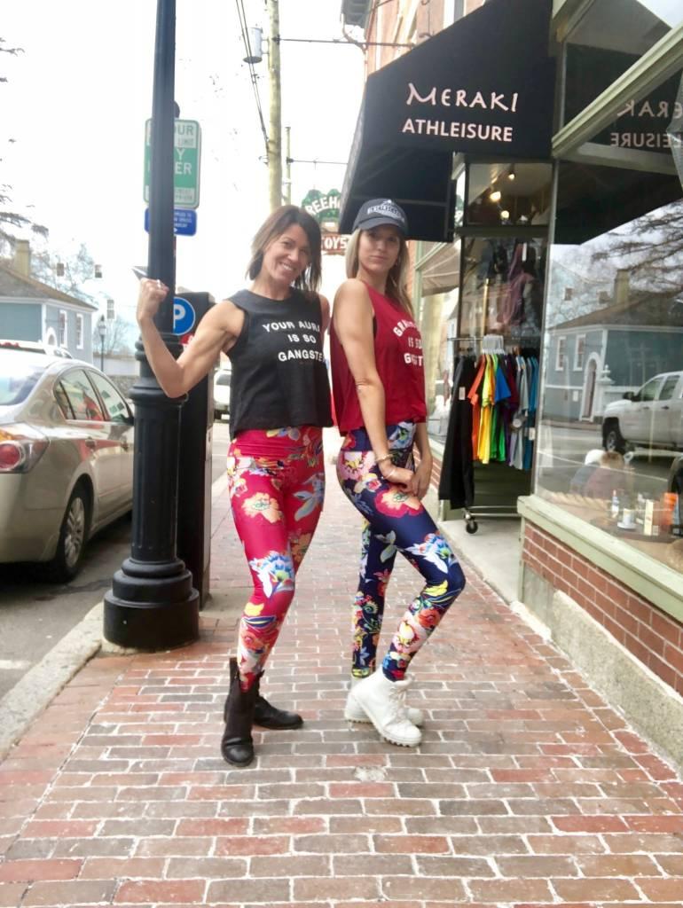 Emily Hsu Emily Hsu Kalani Coral Sneaker Legging