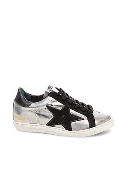 Freebird Freebird Silver Multi Black Star Sneaker