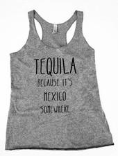 Meraki Meraki Tequila Racerback Tank