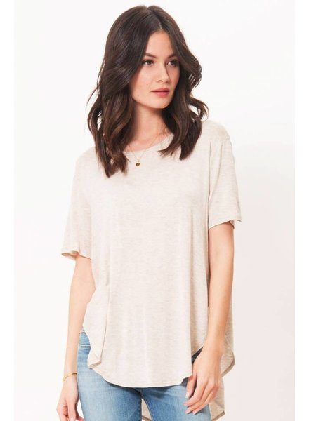 Joah Brown Joah Brown Live In Slouchy Tee Oatmeal