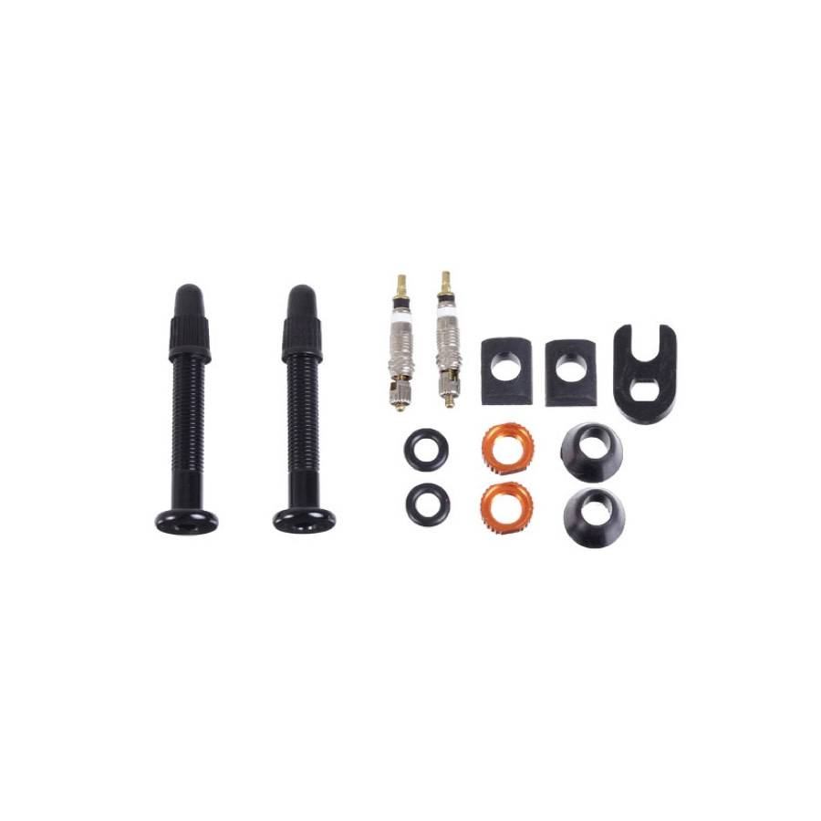 Orange Seal VersaValve tubeless valve stem - pair