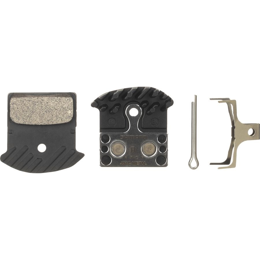 Shimano XTR/XT/SLX brake pad w/fin J04C sintered