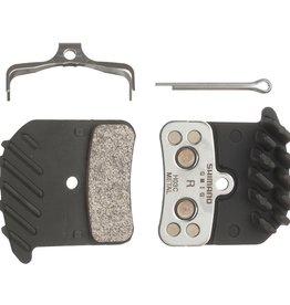 Shimano Saint/Zee brake pad w/fin H01A resin