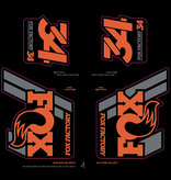 Fox Shox Fox heritage fork/shock decal kit