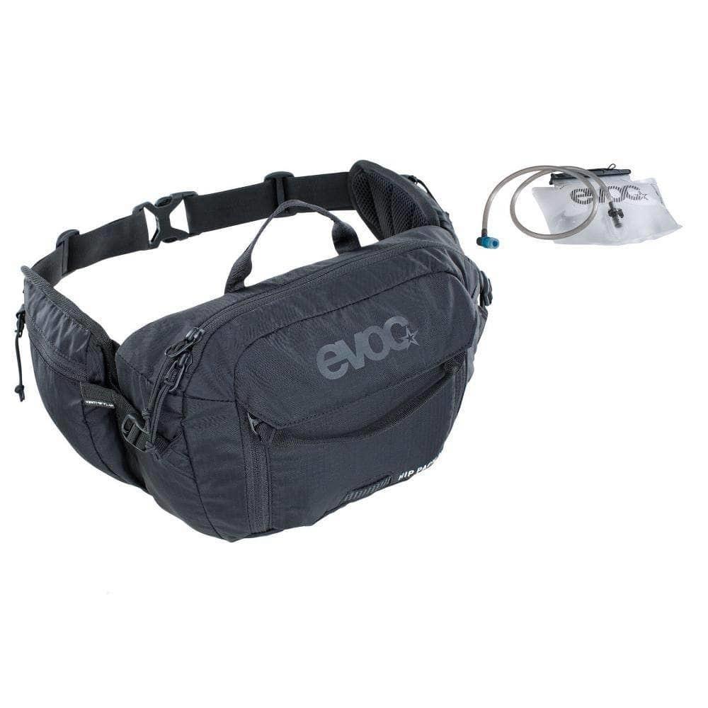 Evoc EVOC, Hip Pack 3L + 1.5L Bladder Black