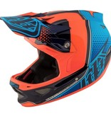 Troy Lee Designs 17 Troy Lee Designs D3 Carbon MIPS Starburst helmet