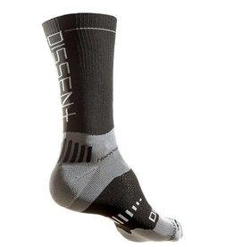 "Dissent Labs Dissent Labs Supercrew 6"" compression nano sock"