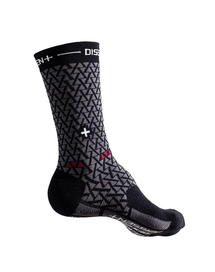 Dissent Labs Dissent Labs Genuflex Semenuk compression crew sock