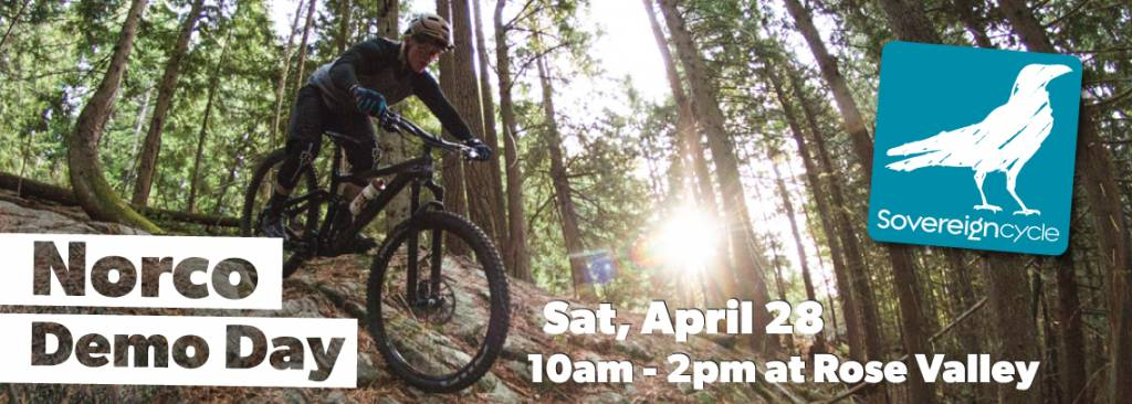 Norco Demo Day, April 28th at Rose Valley.