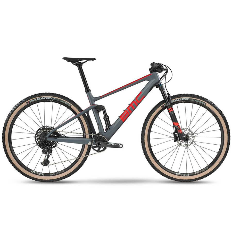 BMC 2019 BMC Fourstroke 01 Three Race Grey