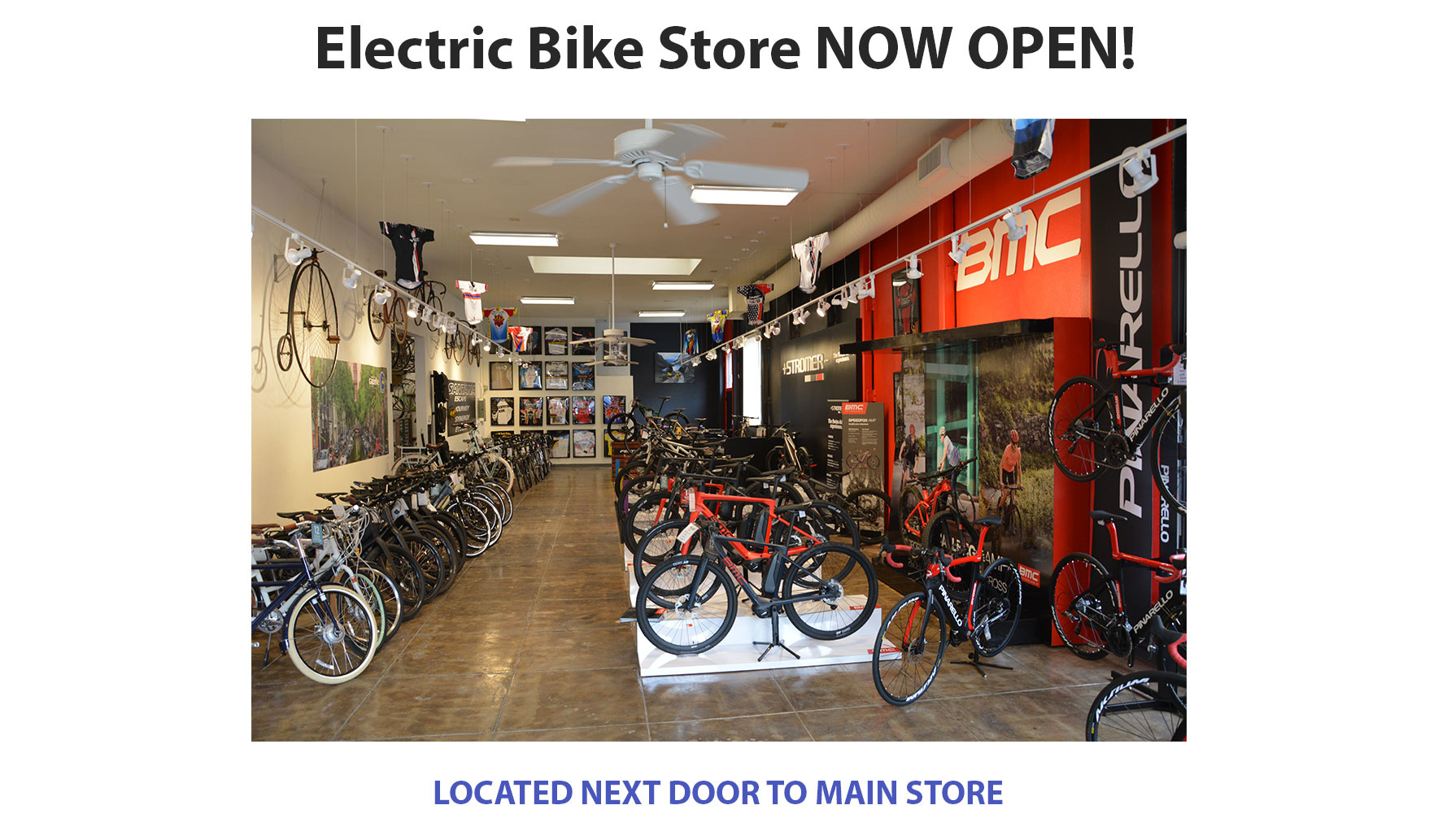 EBike Store Now Open