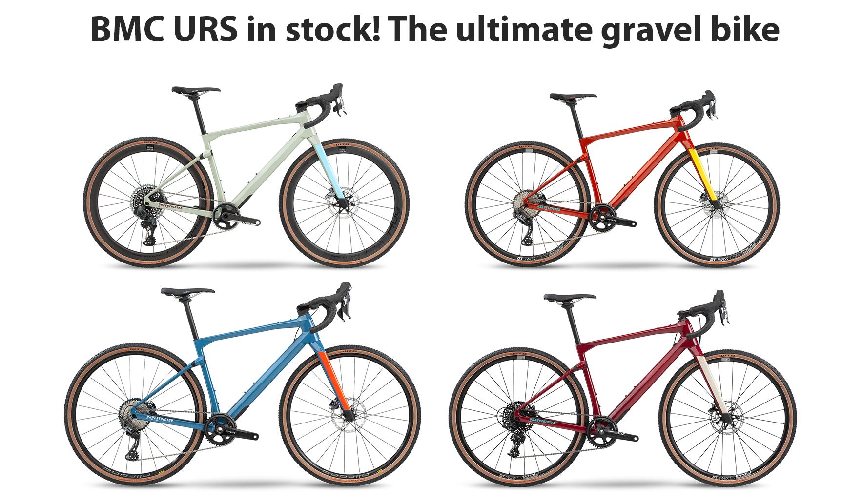 BMC URS in stock! The ultimate gravel bike