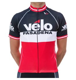 Velo Pasadena VP Jersey '15 Black White Red