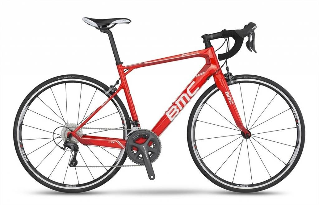 BMC 2017 BMC Granfondo GF02 Ultegra CT Super Red