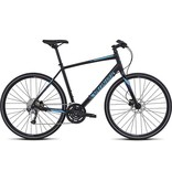 Specialized 2016 Specialized Sirrus Sport Disc Black Cyan Blue