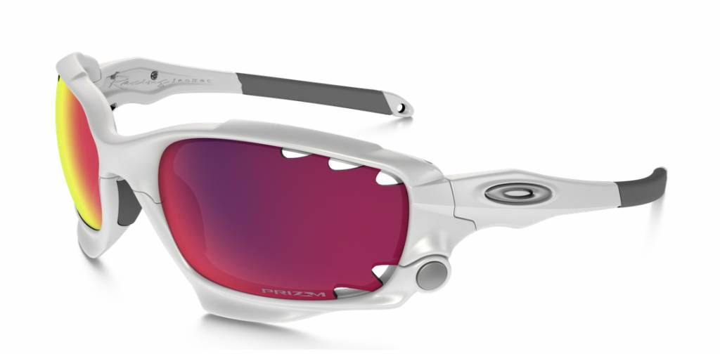 Oakley Oakley Racing Jacket Matte White w/ Prizm Road