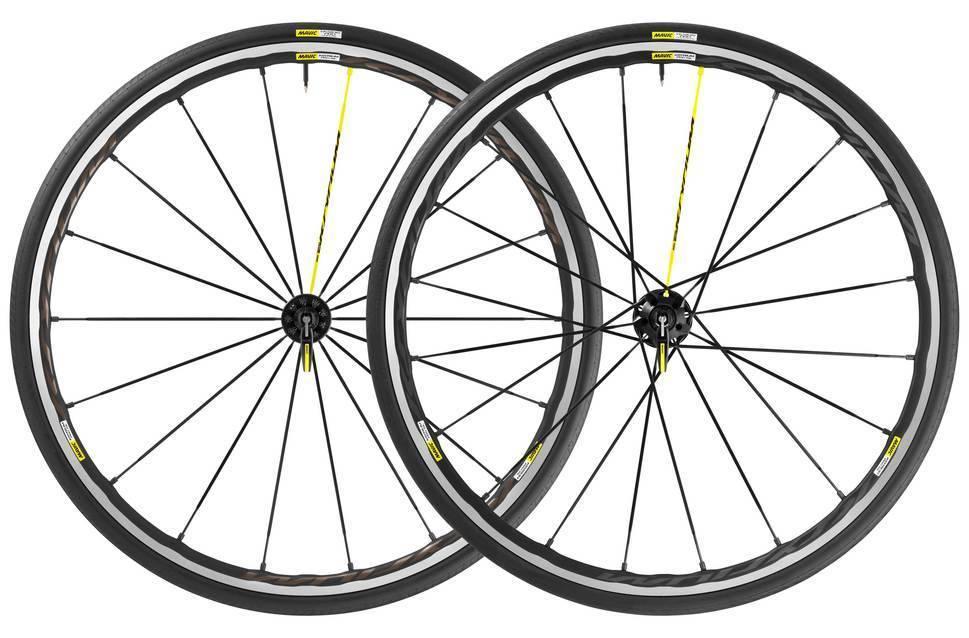 Mavic Mavic Ksyrium Pro SL Clincher Wheelset Yksion Tires