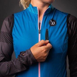 Wattie Ink Women's Thermal Vest Teal