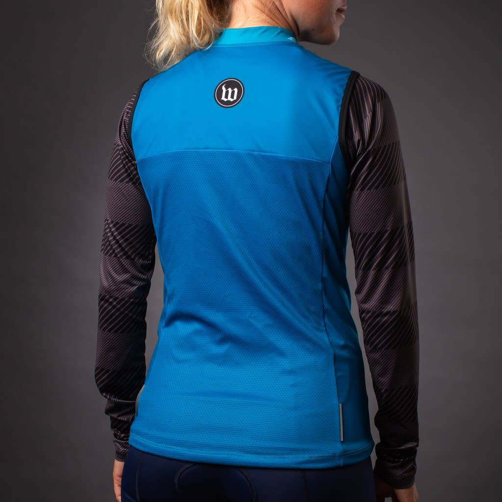 Wattie Ink Wattie Ink Women's Thermal Vest Teal