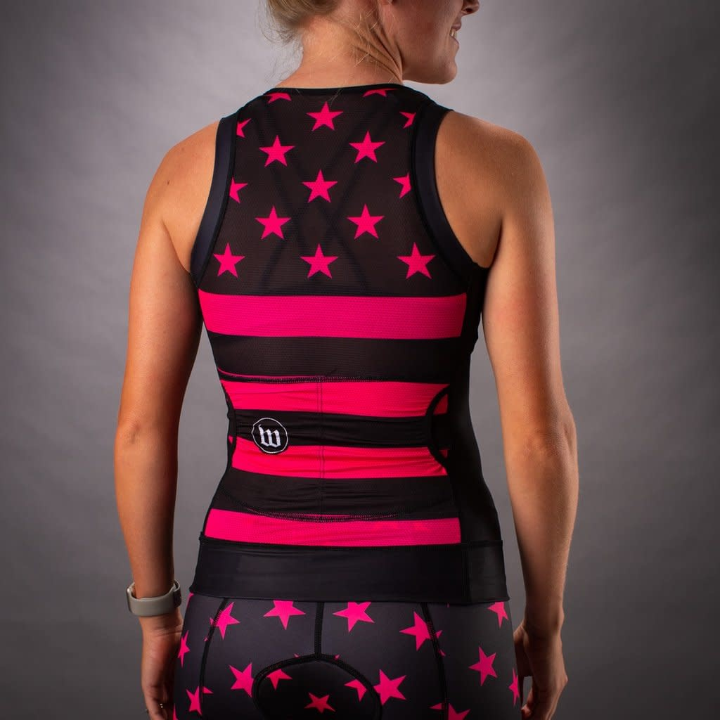 Wattie Wattie Patriot 3 Contender Tri Top