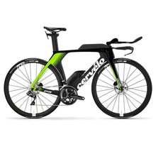 Cervelo P5 Disc Fluoro/Blk 56 w/ race wheels